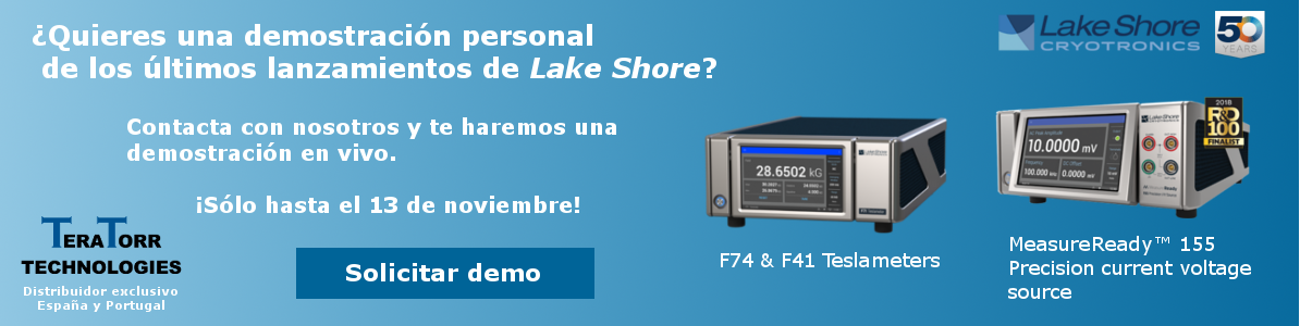 Banner demo F71 & F41 Teslameter y MeasureReady 155 current voltage source de Lake Shore