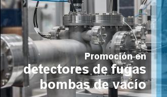 Promoción en detectores de fugas y bombas de vacío industrial