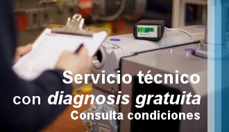 Servicio Técnico Multimarca con Diagnosis gratuita