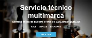 Servicio técnico con diagnosis gratuita