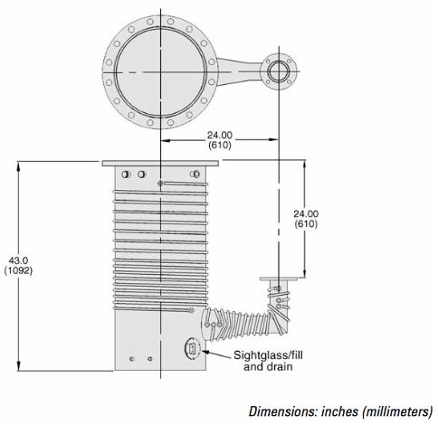 Bomba difusora HS 16 Agilent esquema