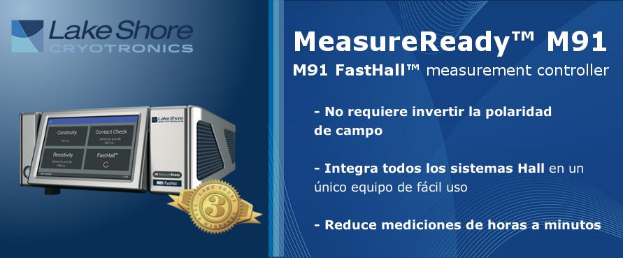 M91 FastHall™ Medidor rápido de efecto Hall