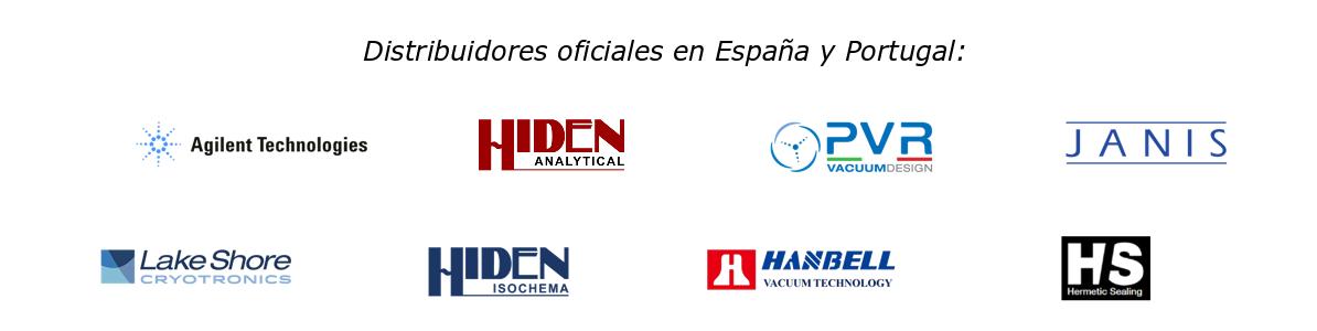 Distribuidores oficiales en España y Portugal de Agilent, Lake Shore Cryotronics, Hiden Analytical, Hiden Isochema, PVR, Hanbell, Janis y Hermetic Sealing
