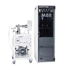 Analizador de permeación de membranas automático
