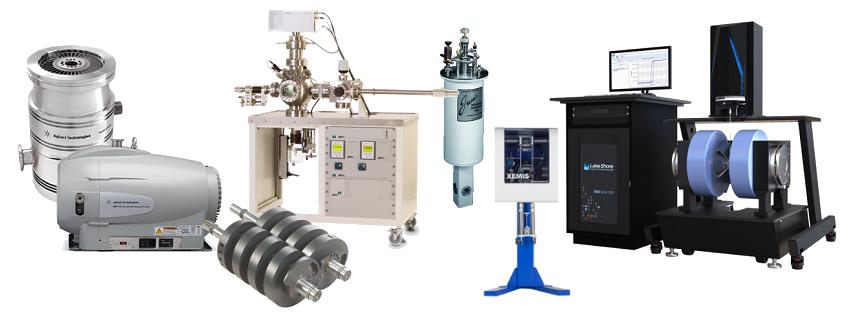 Expertos en vacío, análisis de gases, control térmico, criogenia y ciencia de materiales