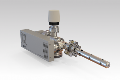 IG20 - 5keV-Argon or Oxygen ion source for UHV surface analysis applications