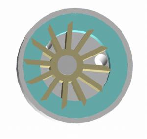 Bomba de anillo líquido