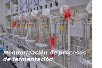 Monitorización de procesos de fermentación con análisis de gases