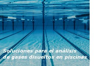Soluciones para el análisis de gases disueltos en piscinas