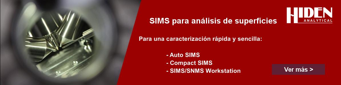 SIMS Hiden Analytical