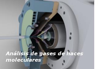 Análisis de gases de haces moleculares