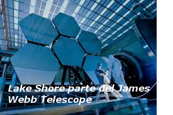 Lake Shore forma parte de la creación del James Webb Telescope